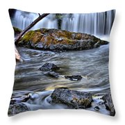 Wisconsin Waterfall Throw Pillow