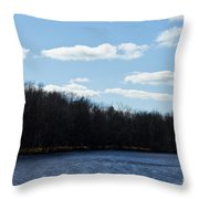 Wisconsin's Peshtigo River Throw Pillow