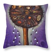Wishing Tree Throw Pillow