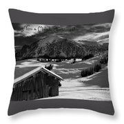 Wishing You A Merry Christmas Austria Europe Throw Pillow