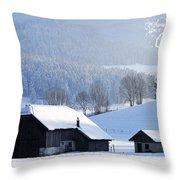 Wishing You A Wonderful Christmas Throw Pillow
