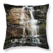 With A Little Sound Of Music Throw Pillow