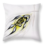 With A Pure Heart Throw Pillow