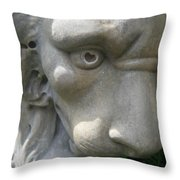 With Love In His Eyes Throw Pillow