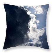 With Thunder He Speaks Throw Pillow