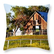 Withered But Worthy Throw Pillow by Elizabeth Hart