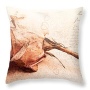 Withered Dreams Throw Pillow