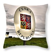 Without Borders ... Throw Pillow