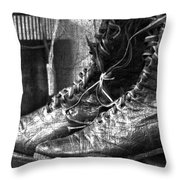 Withstand  Throw Pillow by Empty Wall