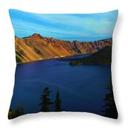 Wizard In The Crater Throw Pillow