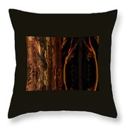 Wizened Throw Pillow
