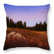 Wolf Creek Twighlight Throw Pillow