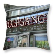 Wolfgangs Reflections Throw Pillow