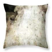 Woman In A Meadow Throw Pillow by Joana Kruse