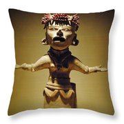 Woman Of The Tribe Throw Pillow