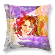 Woman's Soul Part 2 Throw Pillow