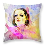Woman's Soul Part 3 Throw Pillow