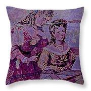 Women Friends Throw Pillow