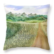 Wonder And Splendor I Throw Pillow