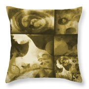 Wondering 3 Throw Pillow by Angelina Vick