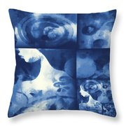 Wondering 4 Throw Pillow by Angelina Vick