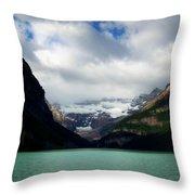 Wonderland Of Lake Louise Throw Pillow