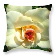 Wonderland Rose Throw Pillow