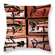 Wooden Killers Throw Pillow