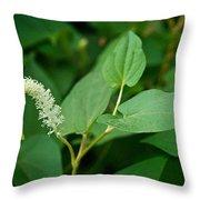 Woodland Flower 1 Throw Pillow