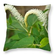 Woodland Flower 2 Throw Pillow