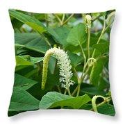 Woodland Flower 4 Throw Pillow