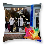 Woodstock Design Throw Pillow