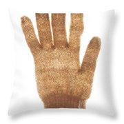 Woolen Glove Throw Pillow by Bernard Jaubert