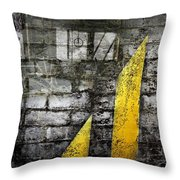 Workers Built Roads Throw Pillow