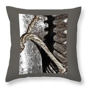Working Parts Throw Pillow by Lloyd Alexander
