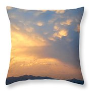 Working Up A Storm II Throw Pillow