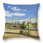 Worl War One 1916 Royal Aircraft F.e.8 Canvas Photo Poster Print Throw Pillow