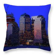 World Financial Center New York Throw Pillow