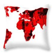 World Throw Pillow