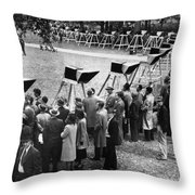 World Series, 1948 Throw Pillow