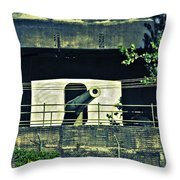 World War II Canon Darwin Australia Throw Pillow