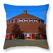 Worlds Largest Barn Throw Pillow