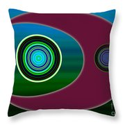 Worlds Second Meal Throw Pillow