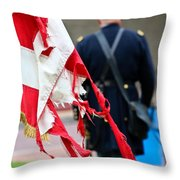 Worn Victory Throw Pillow