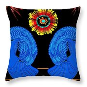 Worship Of The Dying Sun Throw Pillow