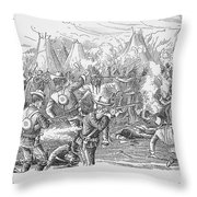 Wounded Knee, 1890 Throw Pillow by Granger