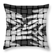 Woven Generations Throw Pillow