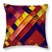 Woven Waves Throw Pillow