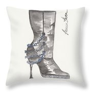 Wrath Boot Throw Pillow