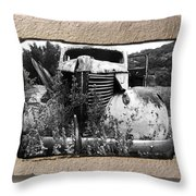 Wreck 1 Throw Pillow